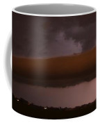 Strong Late Night Nebraska Shelf Cloud Coffee Mug