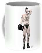 Circus Strongman Coffee Mug