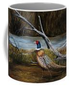 Strutting Pheasant Coffee Mug