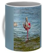 Strutting Spoonbill Coffee Mug