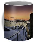 Stuart Marina At Sunset Coffee Mug