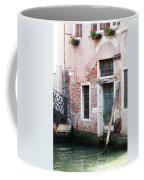 Stucco And Brick Canalside Building Venice Italy Coffee Mug