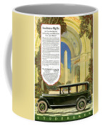 Studebaker Big Six - Vintage Car Poster Coffee Mug