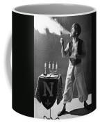 Student Works As Fire-eater Coffee Mug