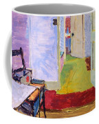 Studio Space, Ivor Street, Nw1 Oil On Canvas Coffee Mug