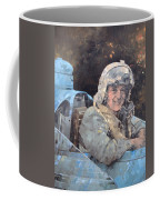 Study For Donald Campbell Oil On Canvas Coffee Mug