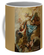 Study For The Assumption Of The Virgin Coffee Mug by Jean Baptiste Deshays de Colleville