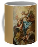 Study For The Assumption Of The Virgin Coffee Mug by Jean Baptiste Deshays de Colleville