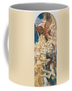 Study For The Coming Of The Americans Coffee Mug