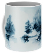Study In Indigo Coffee Mug
