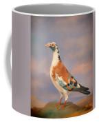 Study Of A Carrier Pigeon Coffee Mug