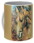 Study Of A Horse's Head Coffee Mug