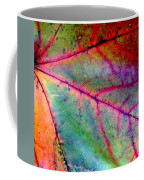 Study Of A Leaf Coffee Mug