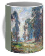 Study Of An Impressionist Master Coffee Mug by Quin Sweetman