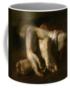 Study Of Feet And Hands, C.1818-19 Oil On Canvas Coffee Mug