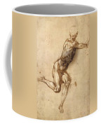 Study Of Figure To Battle Of Cascina Coffee Mug
