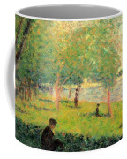Study On La Grande Jatte Coffee Mug
