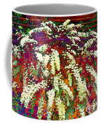 Stylized Spirea - Flowering Plant - Gardener Coffee Mug
