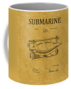 Submarine Patent 3 Coffee Mug