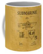 Submarine Patent 5 Coffee Mug