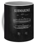 Submarine Patent 8 Coffee Mug