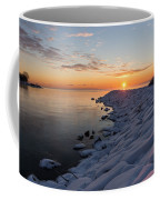 Subtle Pinks And Golds And Violets In A Bright Sunrise Coffee Mug
