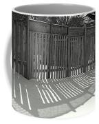 Suburban Winter Coffee Mug
