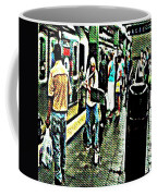 Subway Seranade Coffee Mug