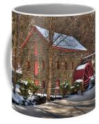 Sudbury Wintery Grist Mill Coffee Mug