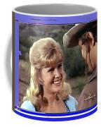 Sue Green Mark Slade The High Chaparral 1966 Pilot Screen Capture Collage 1966-2012 Coffee Mug