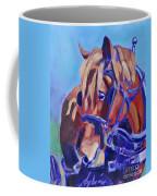 Suffolk Punch Draft Horse Plow Match Coffee Mug