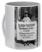 Suffragist 1917 Coffee Mug