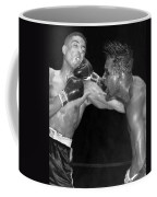 Sugar Ray Throws A  Right Coffee Mug by Underwood Archives