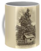 Sugar Shack Sepia Coffee Mug