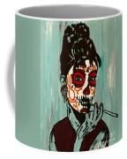 Sugar Skull Audrey Coffee Mug