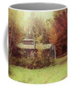Sugarhouse In Autumn Coffee Mug