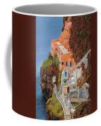 sul mare Greco Coffee Mug by Guido Borelli