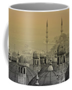 Suleymaniye Mosque And New Mosque In Istanbul Coffee Mug
