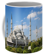 Sultan Ahmed Mosque Landmark In Istanbul Turkey Coffee Mug