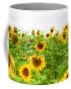 Sultry Sunflowers Coffee Mug