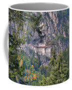 Sumela Monastery In Black Sea Region Of Turkey Coffee Mug