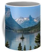 Summer At Glacier National Park Coffee Mug