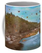 Summer At The River Coffee Mug