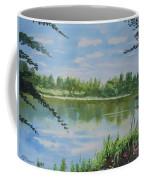 Summer By The River Coffee Mug