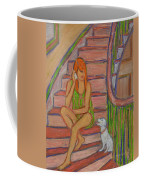 Summer Chat Coffee Mug by Xueling Zou