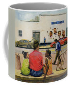 Summer City Stoop Coffee Mug by Colin Bootman