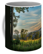 Summer Corn Square Coffee Mug by Bill Wakeley