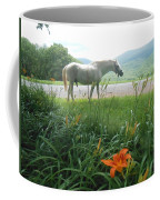 Summer Day Memories With The Paso Fino Stallion Coffee Mug by Patricia Keller
