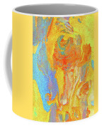 Summer Eucalypt Abstract 3 Coffee Mug