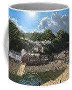 Summer Evening Clovelly North Devon Coffee Mug